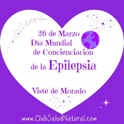 26 de Marzo Concienciación Epilepsia Viste Morado