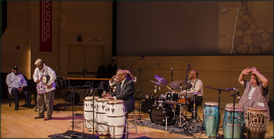 "Closing performance of ""Niger Mambo"" by Randy Weston and the FuIl Ensemble - from: ""Randy Weston presents Symposium in the Drum - From Africa to the New World"""