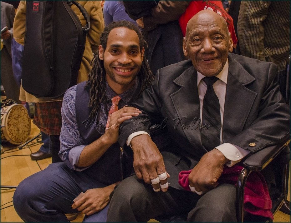 """Panist Khuent Rose with the legendary Candido (Cuba) - from: """"Randy Weston presents Symposium in the Drum - From Africa to the New World"""""""
