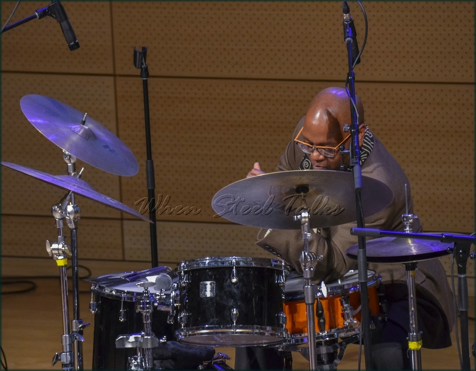 """Lewis Nash (U.S.), drumset - from: """"Randy Weston presents Symposium in the Drum - From Africa to the New World"""""""