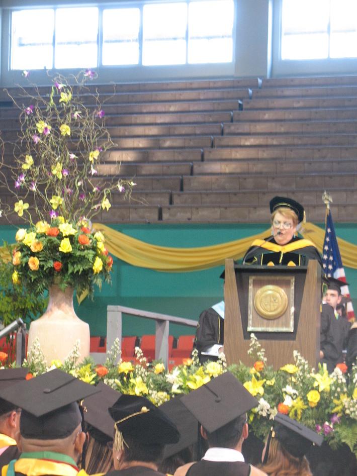 Discurso en graduación de Alex
