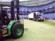 Loading in at a Stadium