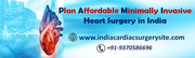 Plan Affordable Minimally Invasive Heart Surgery in India