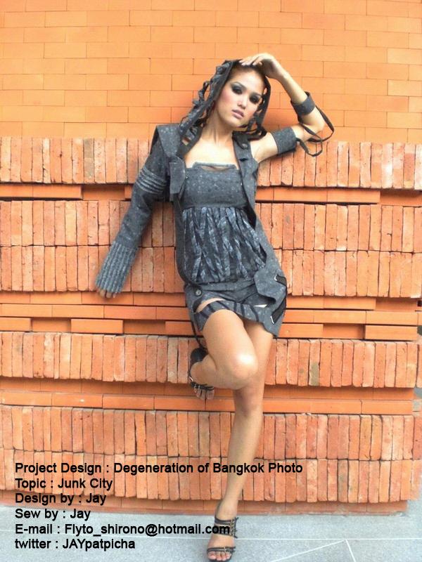 Project Design : Degeneration of Bangkok Photo