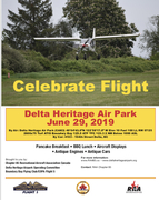 Fly In at Delta Heritage Air Park