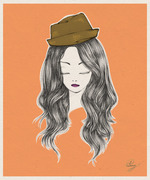 Lady with the Hat #7