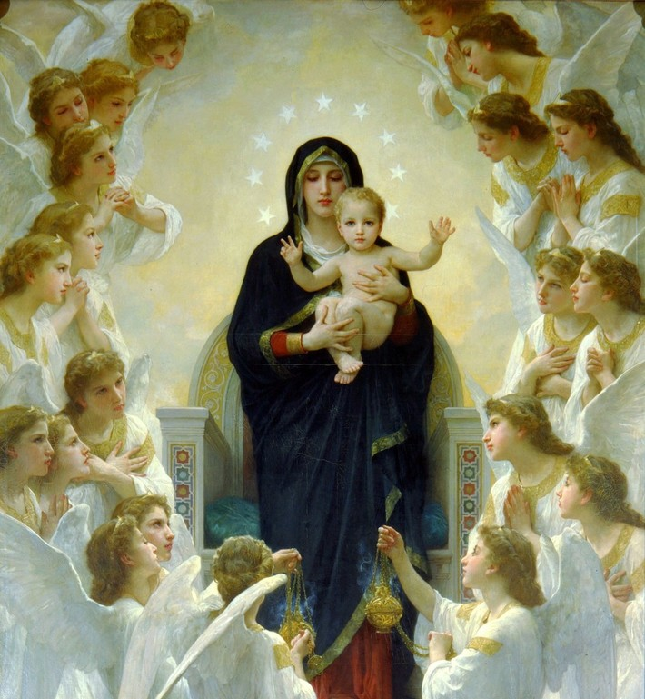 A Virgem com os Anjos