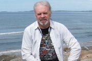 with Atlantic Ocean in the background, Co. Sligo
