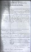 United States to Alonzo Douglas, sale of land