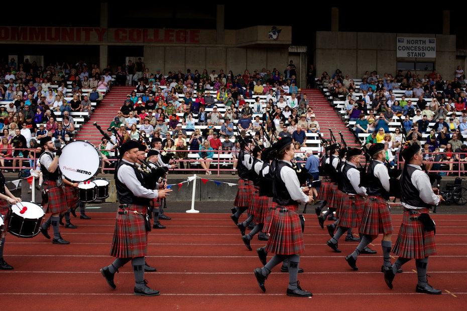 highland games Oregon 2013