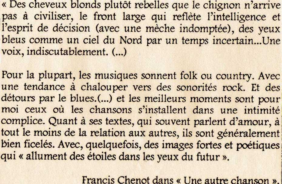 Francis Chenot..