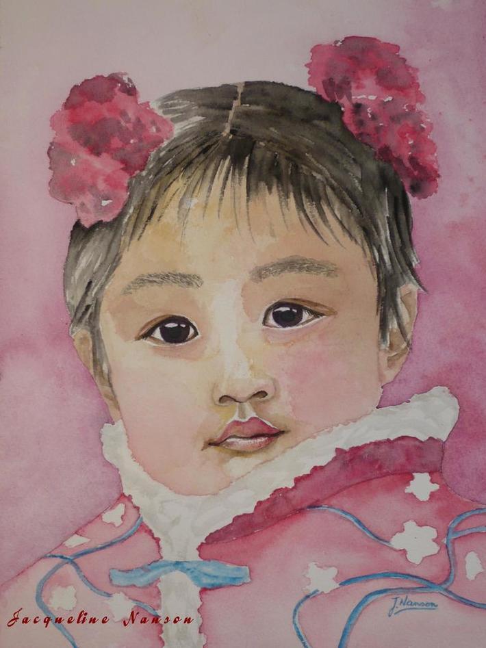 'Petite fleur de Chine'