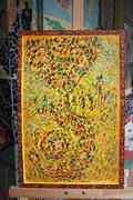 peinture sur Tableau liège 40x60 cm - MANGANO