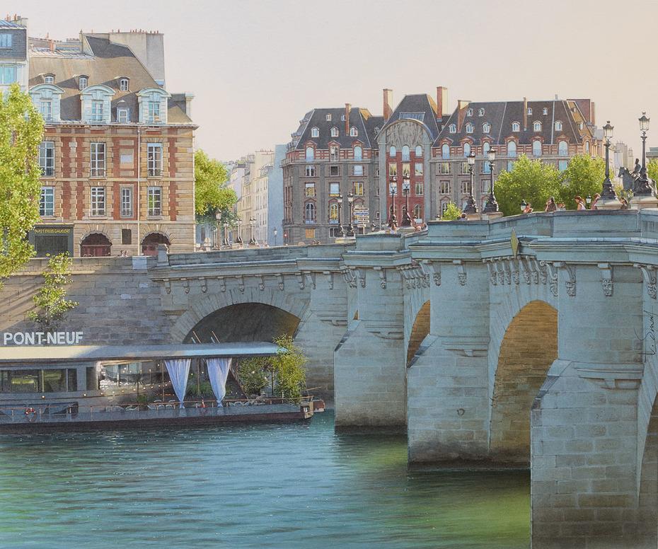 La vedette du Pont-Neuf