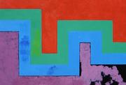 36  Géométrique 4 - Huile sur toile -116x81 cm