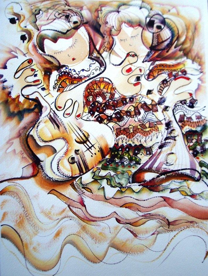 2012-01 LE CONCERT DES SIAMOISES (37x27)
