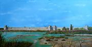 les Remparts d'Aigues Mortes « hommage à Frédéric Bazille »