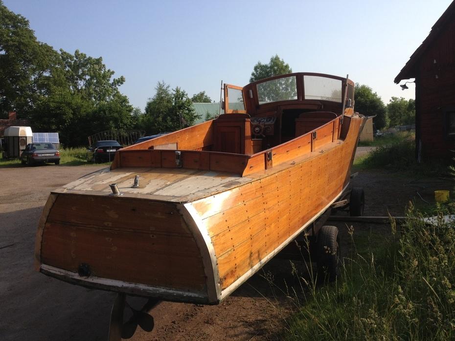Kim - unik Forslundsruffbåt