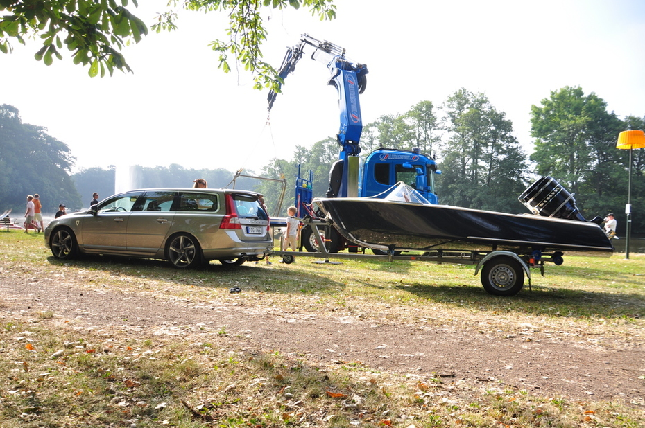 Dax för sjösättning