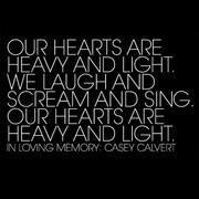 In Loving Memory of Casey Calvert