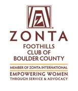 Zonta Foothills Club of Boulder County