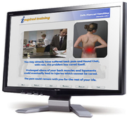 Inspired Training Worldwide - online health and safety training with interactive self test + cert