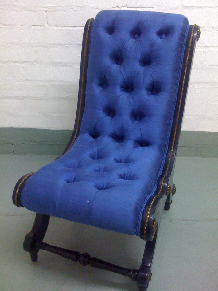 Victorian Ebonized Childs Chair