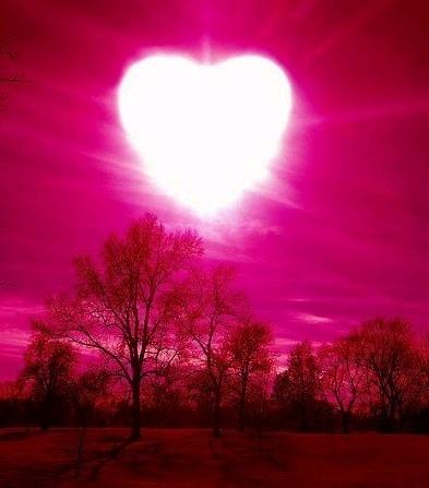 Deus emanando amor sobre a Terra!