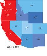 West Coast (US) Veggies