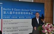 David Palmer, University of Hong Kong,  at Berlin8, Beijing. Oct. 25, 2010