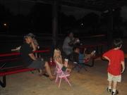 Movie night at High Shoals park