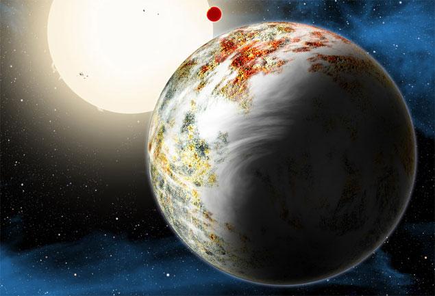 Cientistas descobrem uma megaterra