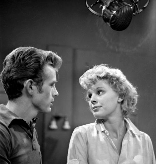 Betsy Palmer & James Dean
