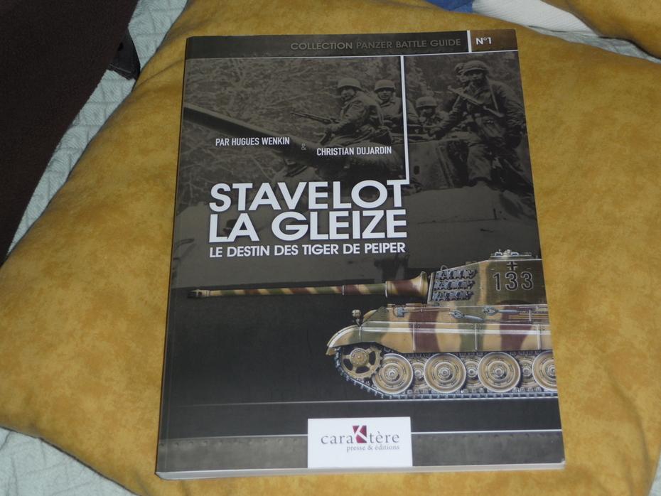 """Stavelot-La Gleize: Le destin des Tigres de Peiper"", by Hugues Wenkin & Christian Dujardin."