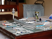 Small international airport