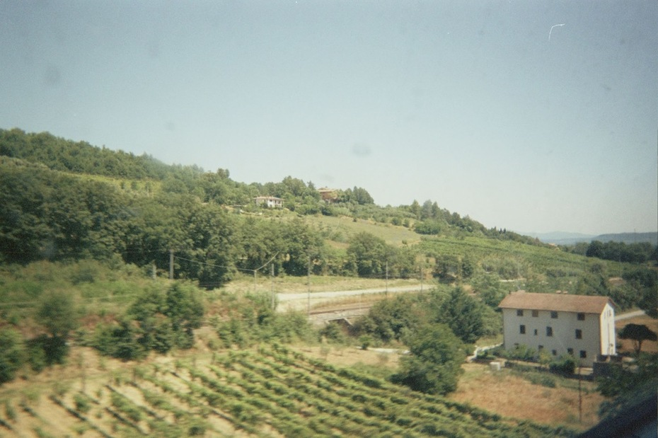 Rural Italy From Train