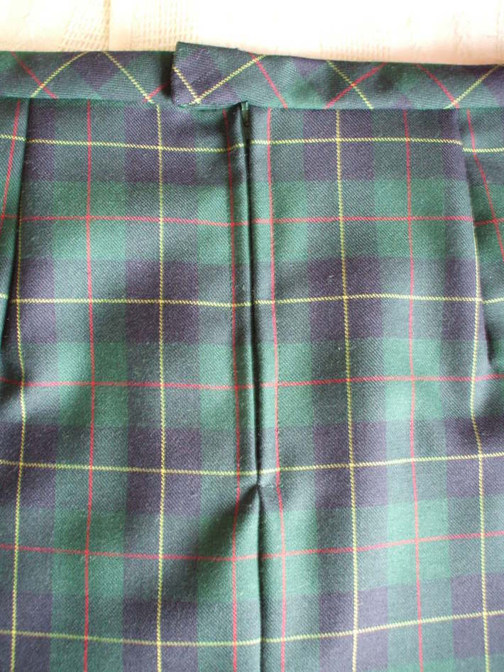 Smart Suit Skirt detail