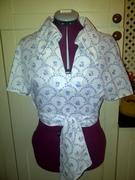 1970s wrap shirt