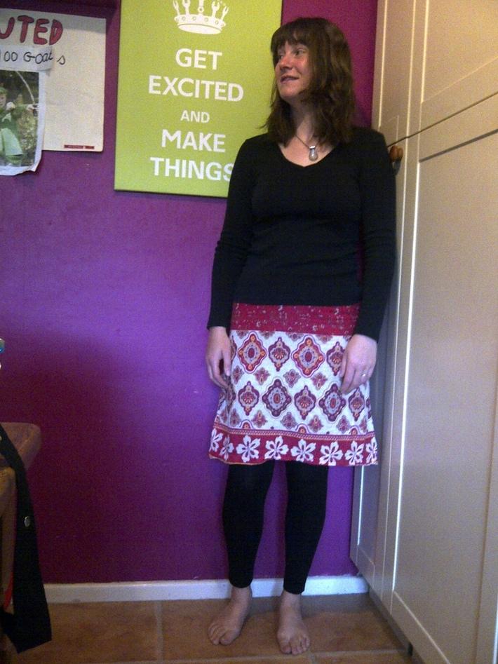 to make a skirt