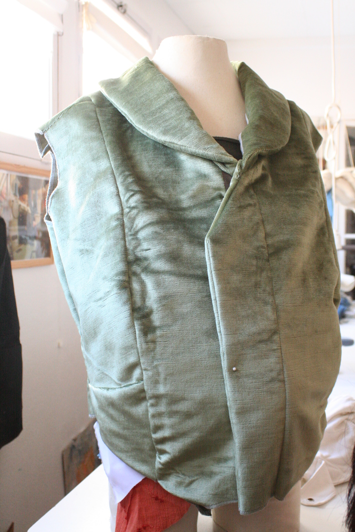 Watson's waistcoat - second try! WIP