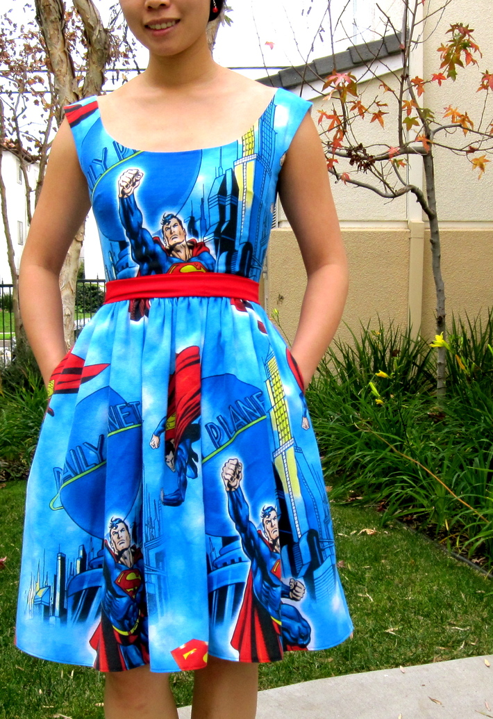 Superman Dress