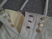 Jumper shorts closeup