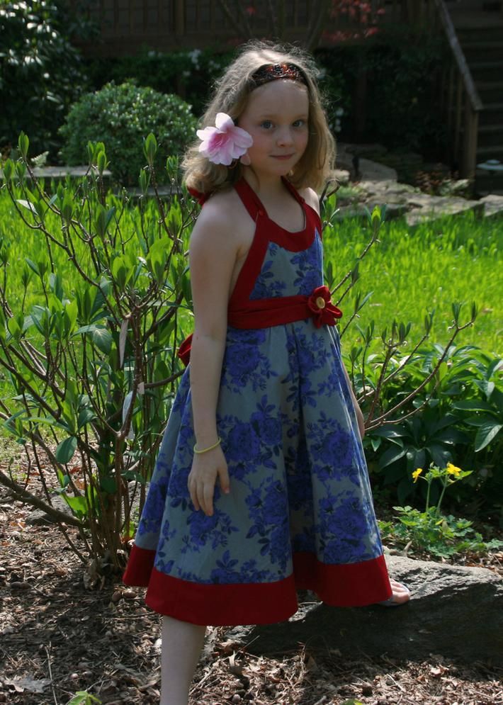 Garden Party Easter Dress