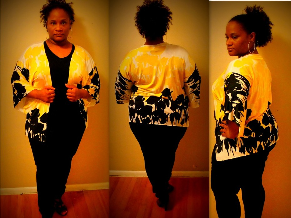 Queen Bumble Bee Cardigan