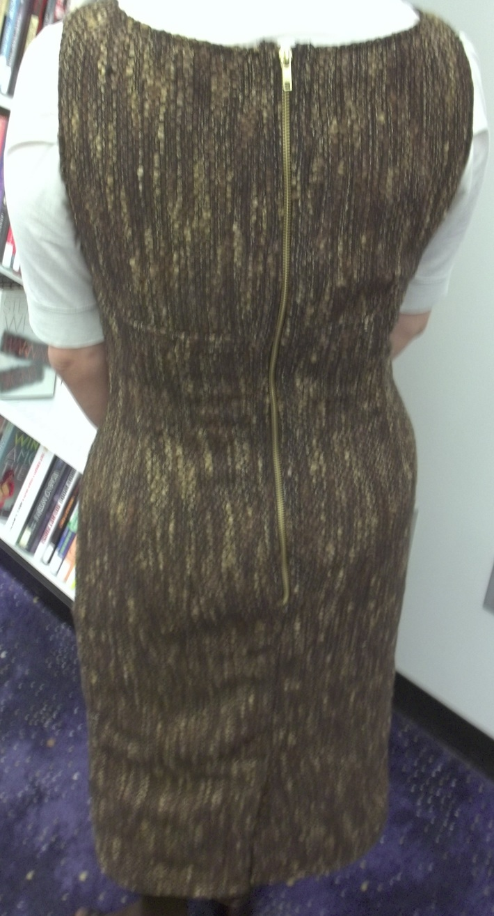 My 1940's Boucle Jumper