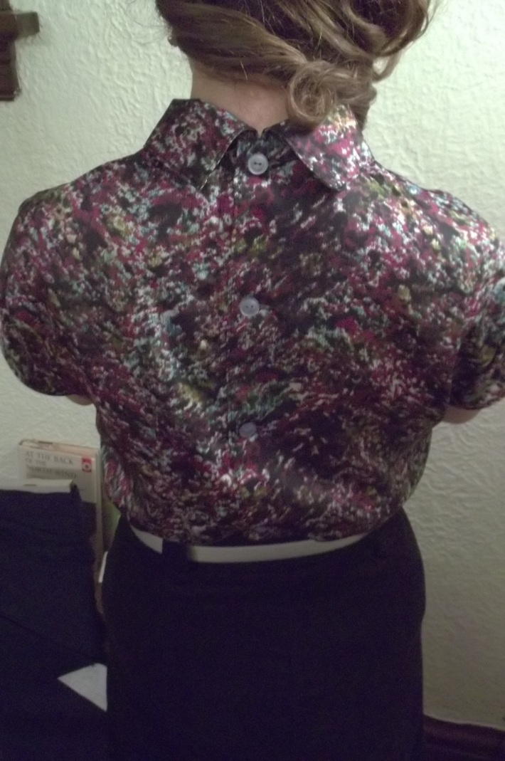 Kelly's 1964 Button-Back Blouse