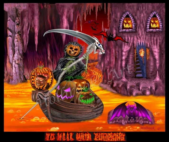 TO HELL WITH PUMPKINS