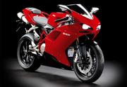 Ducati motorbike
