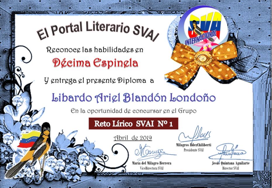 LIBARDO ARIEL BLANDÓN LONDOÑO