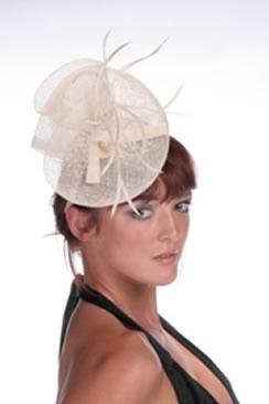 Hatsonheads Designer hat making Kit  - Style 4 Ivory